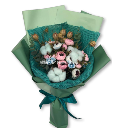 COTTON FLOWERS LATIN LOVER