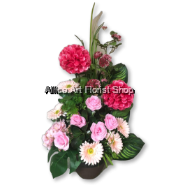 PAPER ROSES ARTIFICIAL FLOWER