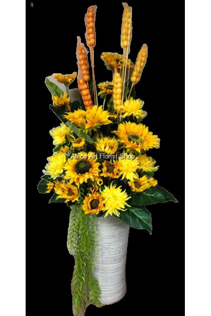 Tall Vase Flower Arrangements Aliice Art Florist