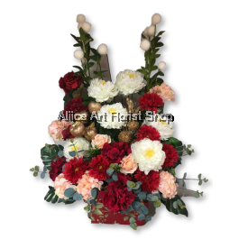GROOVY LOVE ARTIFICIAL FLOWERS