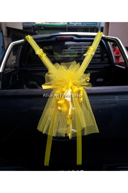 ROMANTIC BLISS CAR DECO
