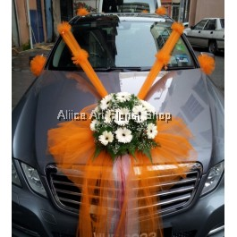 HAPPY GROOM CAR DECO