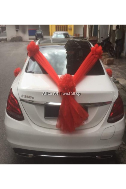 READY TO WED CAR DECO