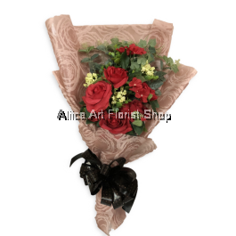 PRECIOUS RUBIES ARTIFICIAL FLOWERS