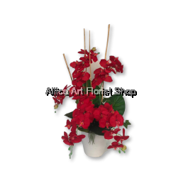 BLOOMING ARTIFICIAL FLOWERS